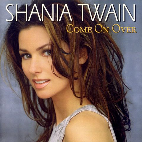 Shania Twain - Come On Over Album Cover