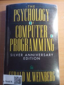 Framsida av boken The Psychology of Computer Programming