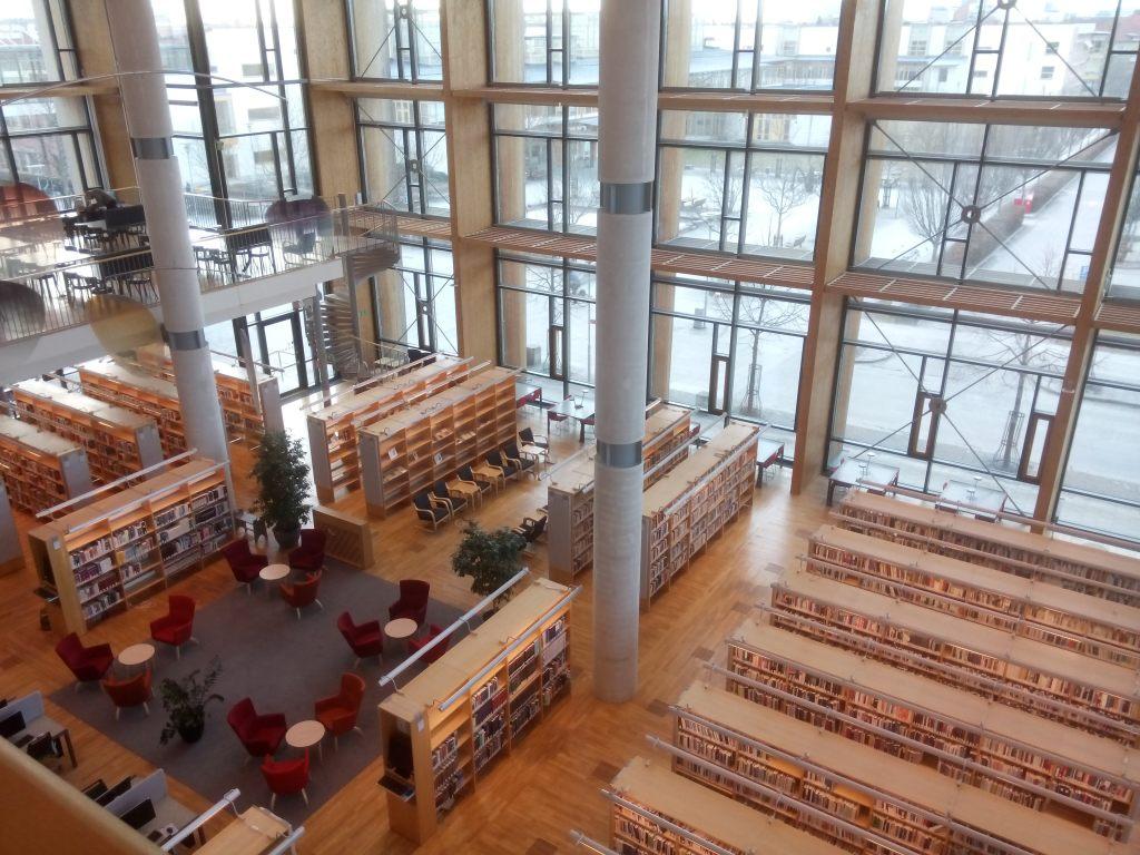 MDHs bibliotek.
